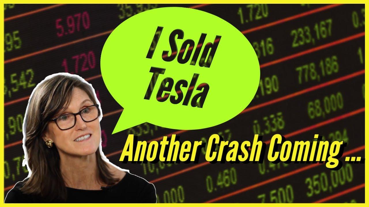 Cathie Wood SELLS TESLA STOCK AGAIN!!!! (TSLA Crash Coming)