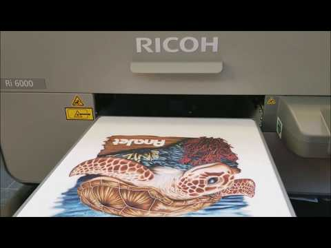 Our First Look at the NEW Ricoh Ri6000/Ri3000 At NBM Show Charlotte 2017