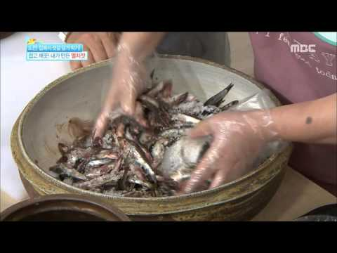 [Happyday] Let's make 'Salted and fermented anchovies' in home '멸치젓' 담그기 [기분 좋은 날] 20151007