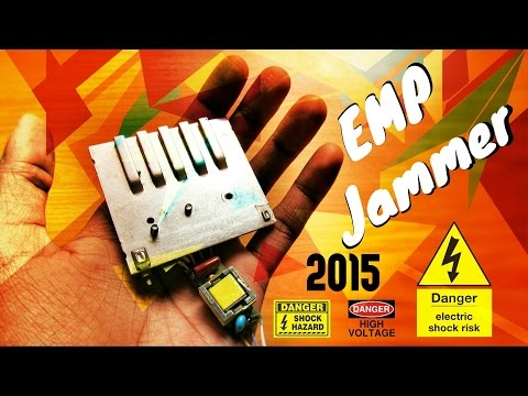 Powerful Emp Jammer
