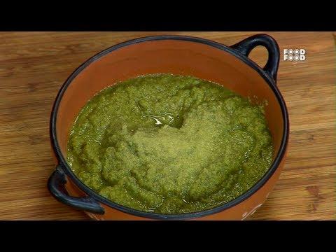 Green Garlic Chutney - Turban Tadka