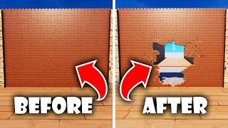 NEW Destructible Walls in Fortnite Creative!