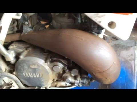 How To Paint A Motorcycle Exhaust Pipe Cheap and Easy