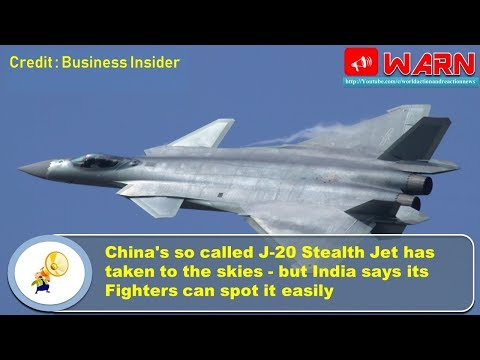 China's so called J-20 Stealth Jet has taken to the skies - but In