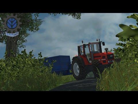 Farming Simulator 2013 carting manure