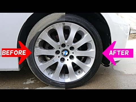 HOW TO WASH CAR WHEELS FOR CHEAP