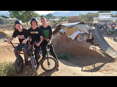 Game of Bike Vs. Sketchy Resi Ramp