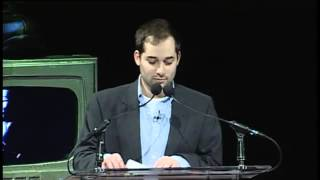 Harris Wittels Humblebrag monologue at Crunchies Awards 2011/12