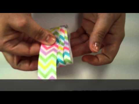 2 Loop Small Hair Bow (quick and easy)