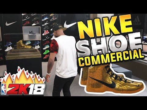 NBA 2K18 MyCAREER - NIKE SIGNATURE SHOE COMMERCIAL! My Nike Endorsement Ep. 16 (PS4 Pro Gameplay)