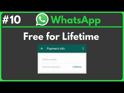 WhatsApp • Free for Lifetime