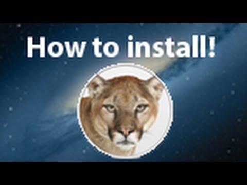 How To Install OS X Mountain Lion 10.8