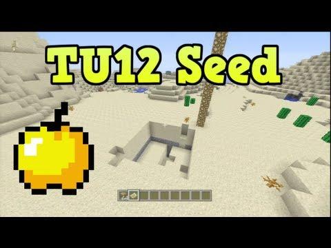 Minecraft Xbox 360 TU12 Seed - Golden Apple Seed (Above Ground Mob Spawner)