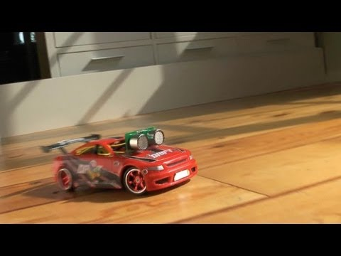 Drifting Robot Car - The Latest in Hobby Robotics
