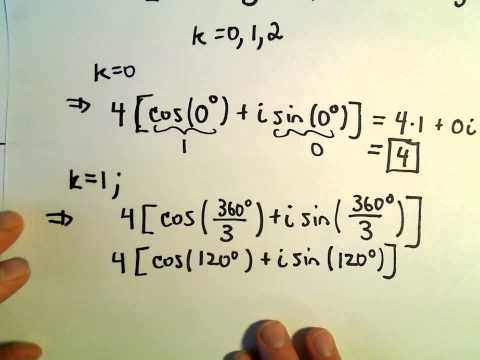 Roots of Complex Numbers, Ex 3