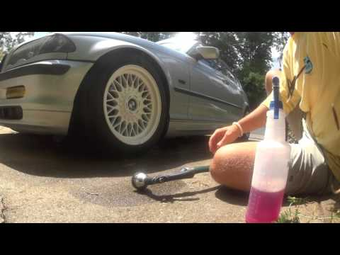 Hands-Free White PlastiDip Cleaning in 5 Minutes