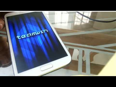 How to install TWRP 2.6.3.1 Custom Recovery on Samsung Galaxy Note 2 N7100