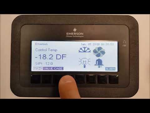 Emerson NextGen Case Controller v1.01F01 - How to Override the Refrigeration Output