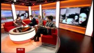 GOSSIP Interview @ BBC Breakfast 2012/08/17
