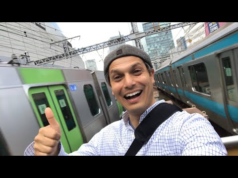Between Two Moving Trains in Tokyo? | Yurakucho JR Station