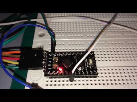 Chiptune project on an Arduino Pro Mini clone