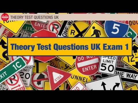 Theory Test Questions UK #1