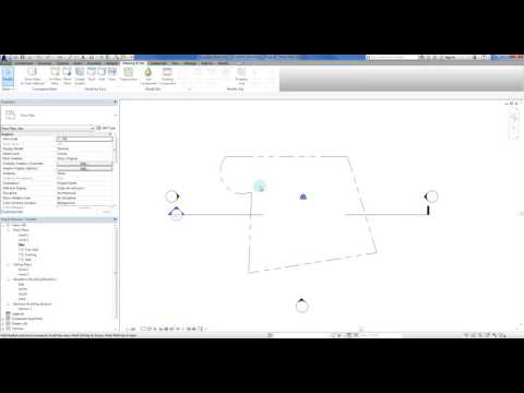 Revit - Creating Arcs in Property Lines