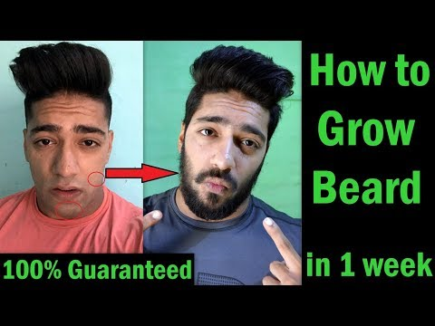 How to Grow Beard Faster - 100% Guaranteed | Get Rid of Patchy Beard