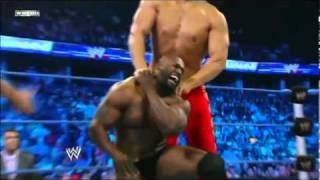 Wwe Smackdown 8/26/11 Ezekiel Jackson vs The Great Khali