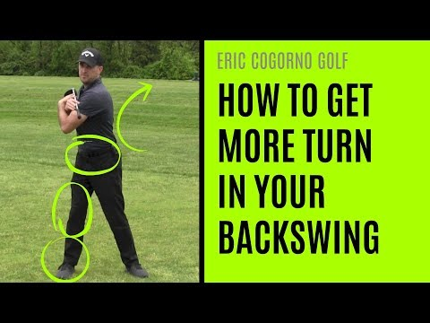 GOLF: How To Get More Turn In Your Backswing