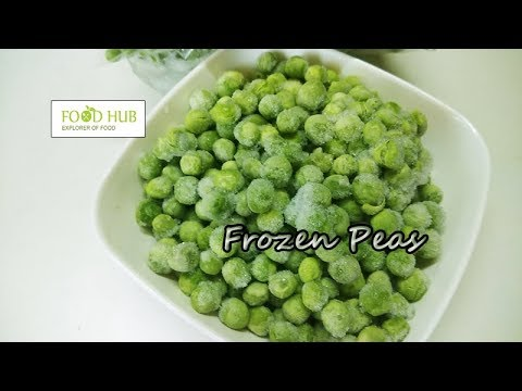 How to prepare frozen peas at home | मटर को स्टोर करने की विधि | Homemade Frozen Peas Recipe By Food