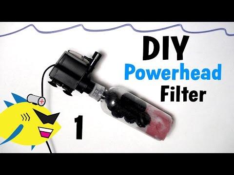 How To Make: DIY Powerhead Filter for Aquarium
