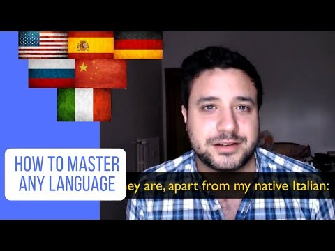 How to Master any Language (in English, Spanish, German, Russian, Chinese, Italian)