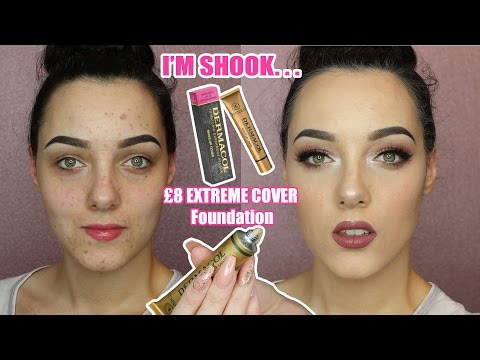 DERMACOL EXTREME COVER FOUNDATION   IT WILL CLEANSE YOUR SOUL ITS SO LIT