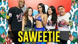 Saweetie on 'My Type' Remix, Catching Wedding Bouquet, Movie Plans + More!