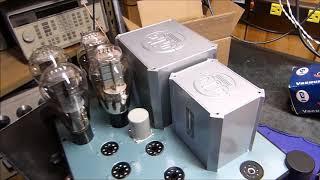 Parallel Push-pull 300b  Triode Amplifier United Transformer Company (utc) Ls-58  Brook 12a Design.