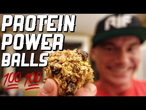 Bro Cooking 101   Peanut Butter Protein Power Balls