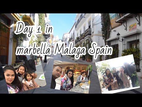 VLOG DAY1 IN MARBELLA MALAGA SPAIN - PAJO-ORTEGA FAMILY