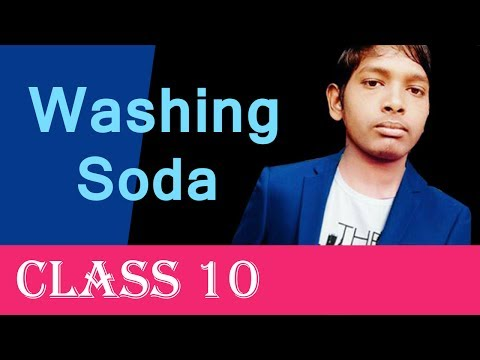 Washing Soda Class 10 By Nitish