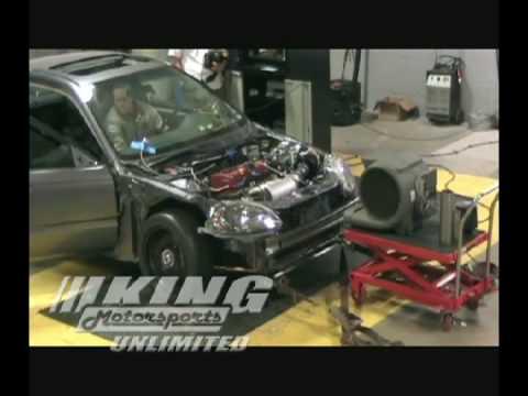 King Motorsports K20K24 Street Performance Build - 294 WHP, 206 Torque