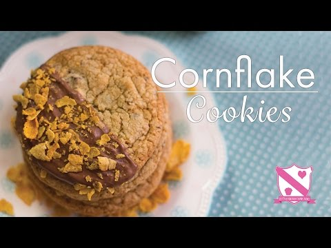 Cornflake Cookies - In The Kitchen With Kate