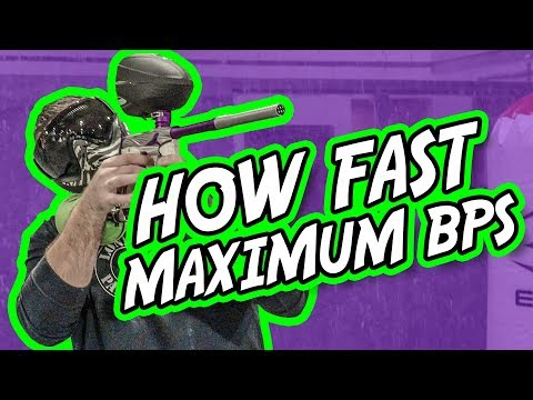 How Fast Can a Paintball Gun Shoot, Maximum BPS | Lone Wolf Paintball Michigan