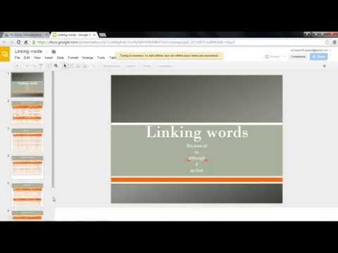 how to upload a powerpoint presentation to your website using google drive