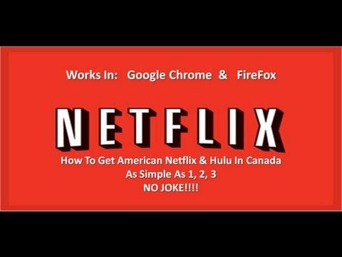Get American Netflix In Canada In 2min's - No Joke!  Updated Video Link Below