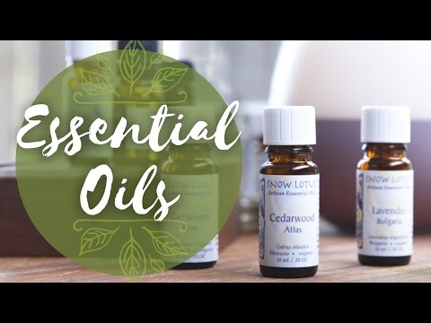 Essential Oils for Sleep, Stress and Hormonal Imbalance