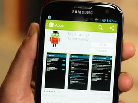 CNET How To - Automate your Android device with Mini Tasker