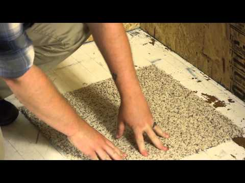 How to Install Double-Stick Tape on Carpet Tiles : Carpet Installation & Help