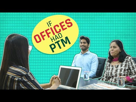 MensXP: If Offices Had PTM | Mother's Day Special - This Is Every Indian Mom Ever