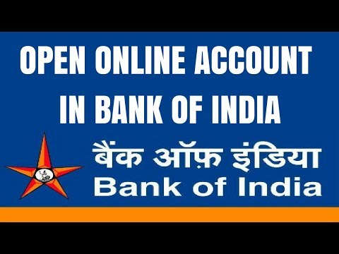 Bank of India Account Opening Online | How to Open Zero Balance Account in Bank of India