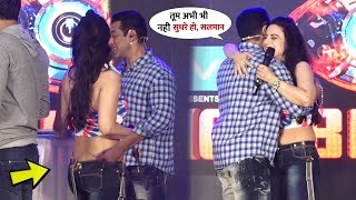 Salman Khan Hugged and Met of Ameesha Patel After 10 Year at BB 13 | Best chemistry between Them
